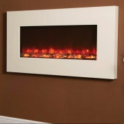 Celsi Electriflame XD Ivory Wall-Mounted Electric Fire