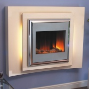 Flamerite Lucca Electric Fireplace Suite