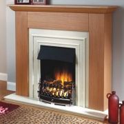 Flamerite Mimosa Electric Fireplace Suite