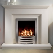 Gallery Cranbourne Jurastone Fireplace Suite