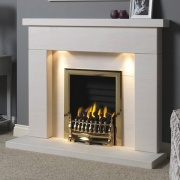 Gallery Durrington Portuguese Limestone Fireplace Suite