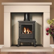 Gallery Durrington 42 Fireplace with optional Firefox 5 Gas Stove