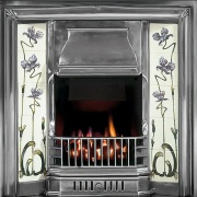 Gallery Sovereign Cast Iron Tiled Fireplace Insert