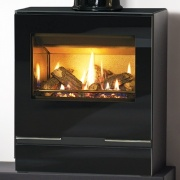 Gazco Riva Vision Medium Balanced Flue Gas Stove