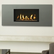 Gazco Studio Slimline Steel 2 Balanced Flue Gas Fire