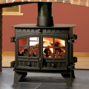 Hunter Herald 8 Double Sided Wood Burning & Multi-Fuel Stove