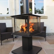 Legend Garden Cube - Outdoor Wood Burning Stove