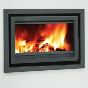 Mendip Christon 900 Inset Flatline Woodburning Stove