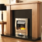 Pureglow Stanford Oak Fireplace