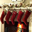 Follow our suggestions for making your Christmas fireplace the heart of your holiday home