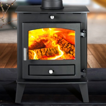 Avalon 4 Double Sided Single Depth Wood Burning / Multi-Fuel Stove