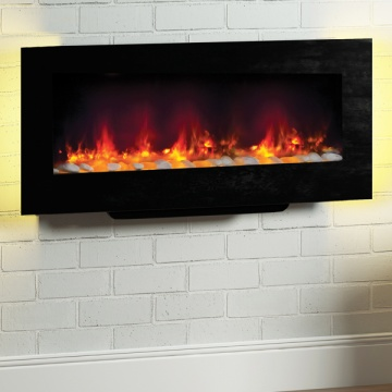 Be Modern Amari Wall Mounted or Free Standing Electric Fire