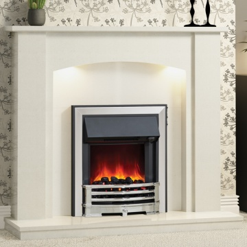 Be Modern Somerton Marble Fireplace