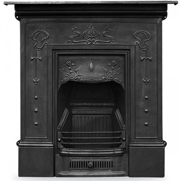 Carron Bella Large Cast Iron Combination Fireplace