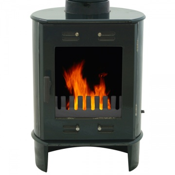 Carron Dante Wood Burning / Multi-Fuel Stove - Enamel Finish