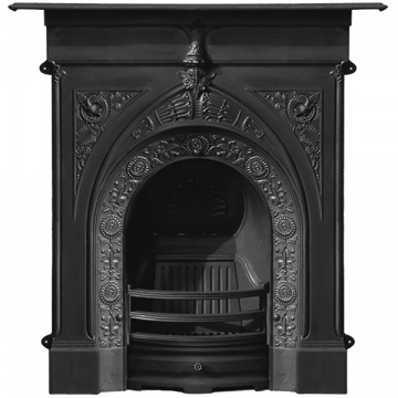 Carron Knaresborough Cast Iron Combination Fireplace