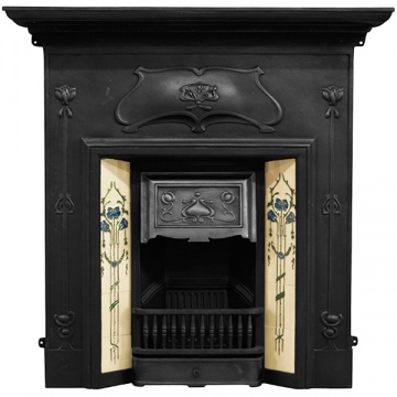 Carron Verona Cast Iron Combination Fireplace