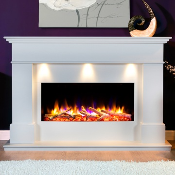 Celsi Ultiflame VR Adour Elite Illumia Electric Fireplace Suite