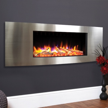 Celsi Ultiflame VR Vichy Inset Wall-Mounted Electric Fire