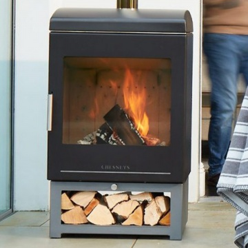 Chesneys HEAT CLEAN BURN Outdoor Wood Burning Stove