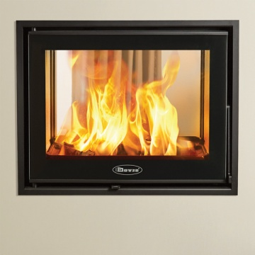 Dovre Zen 102 Double Sided Wood Burning Cassette Fire Stove