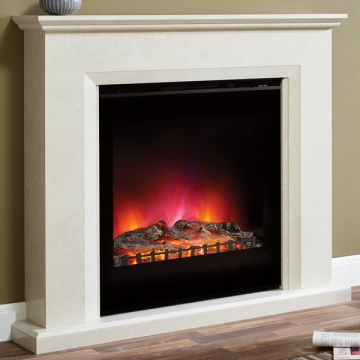 Elgin & Hall Lorento Marble Electric Fireplace Suite