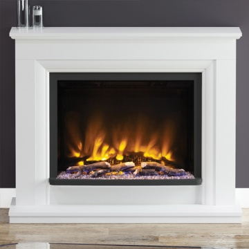 Elgin & Hall Pryzm Arana Electric Fireplace Suite