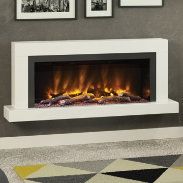 Elgin & Hall Pryzm Impero 57'' Wall-Mounted Marble Electric Suite