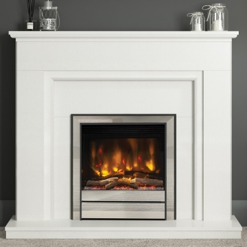 Elgin & Hall Willaston Marble Electric Fireplace Suite