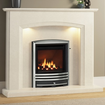 Elgin & Hall Eliana Marble Fireplace