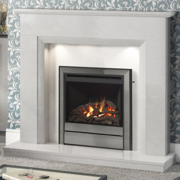 Elgin & Hall Roesia Marble Fireplace
