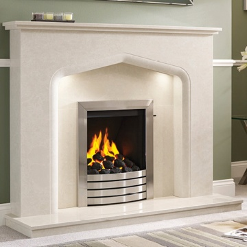 Elgin & Hall Verdena Marble Fireplace