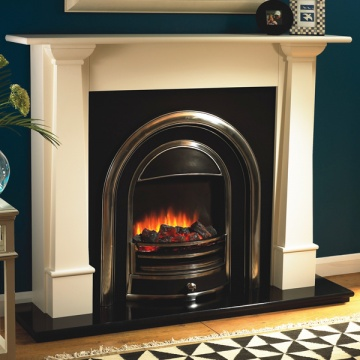 Flamerite Bronte with Tennyson Electric Fireplace Suite