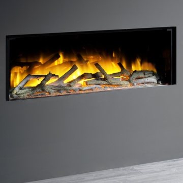 Flamerite Glazer 1000 1-Sided Inset Electric Fire