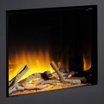 Flamerite Glazer 600 1-Sided Inset Electric Fire