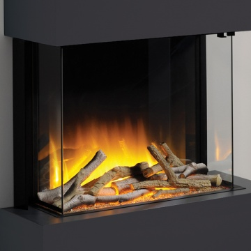 Flamerite Glazer 600 3-Sided Electric Fire