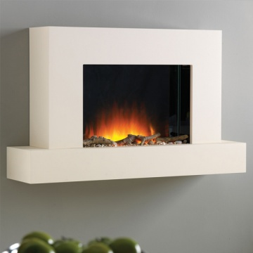 Flamerite Jaeger 1020 Wall Mounted Electric Fireplace Suite