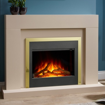 Flamerite Votary Electric Fireplace Suite