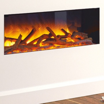 Flamerite Glazer 900 1-Sided Inset Electric Fire