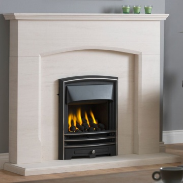 Gallery Dacre Portuguese Limestone Fireplace Suite