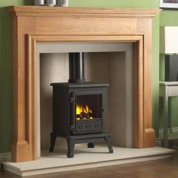 Gallery Howard Oak Fireplace