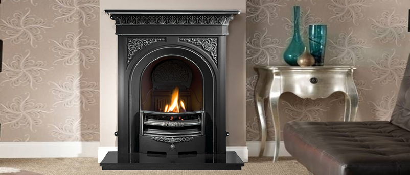 Gallery Nottage Cast Iron Combination Fireplace