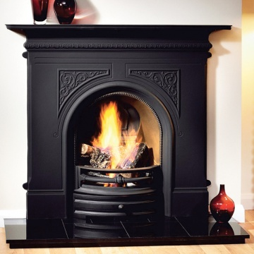 Gallery Pembroke 48'' Cast Iron Combination Fireplace