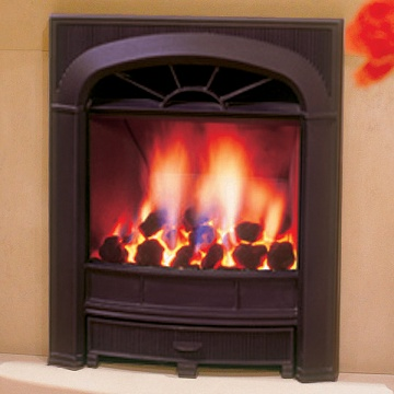 Gazco Logic HE Richmond Balanced Flue Convector Gas Fire