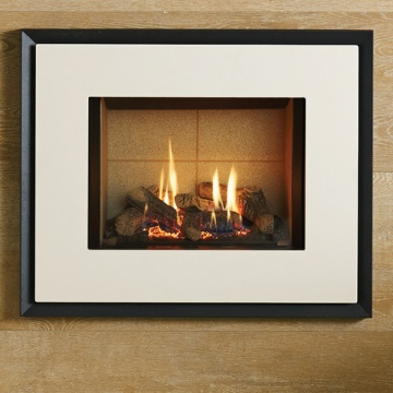 Gazco Riva2 500 Evoke Steel Balanced Flue Gas Fire