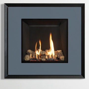 Gazco Riva2 530 Evoke Steel Gas Fire