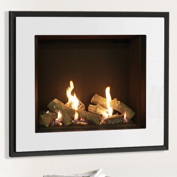 Gazco Riva2 750HL Evoke Glass Balanced Flue Gas Fire
