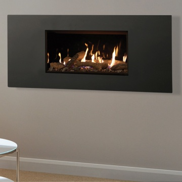 Gazco Studio 1 Steel 2 Gas Fire