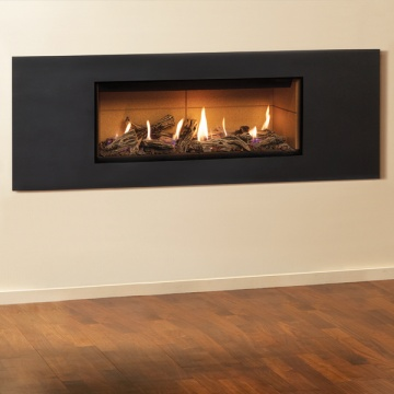 Gazco Studio 2 Steel 2 Gas Fire