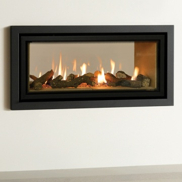 Gazco Studio 2 Duplex Double Sided Balanced Flue Gas Fire